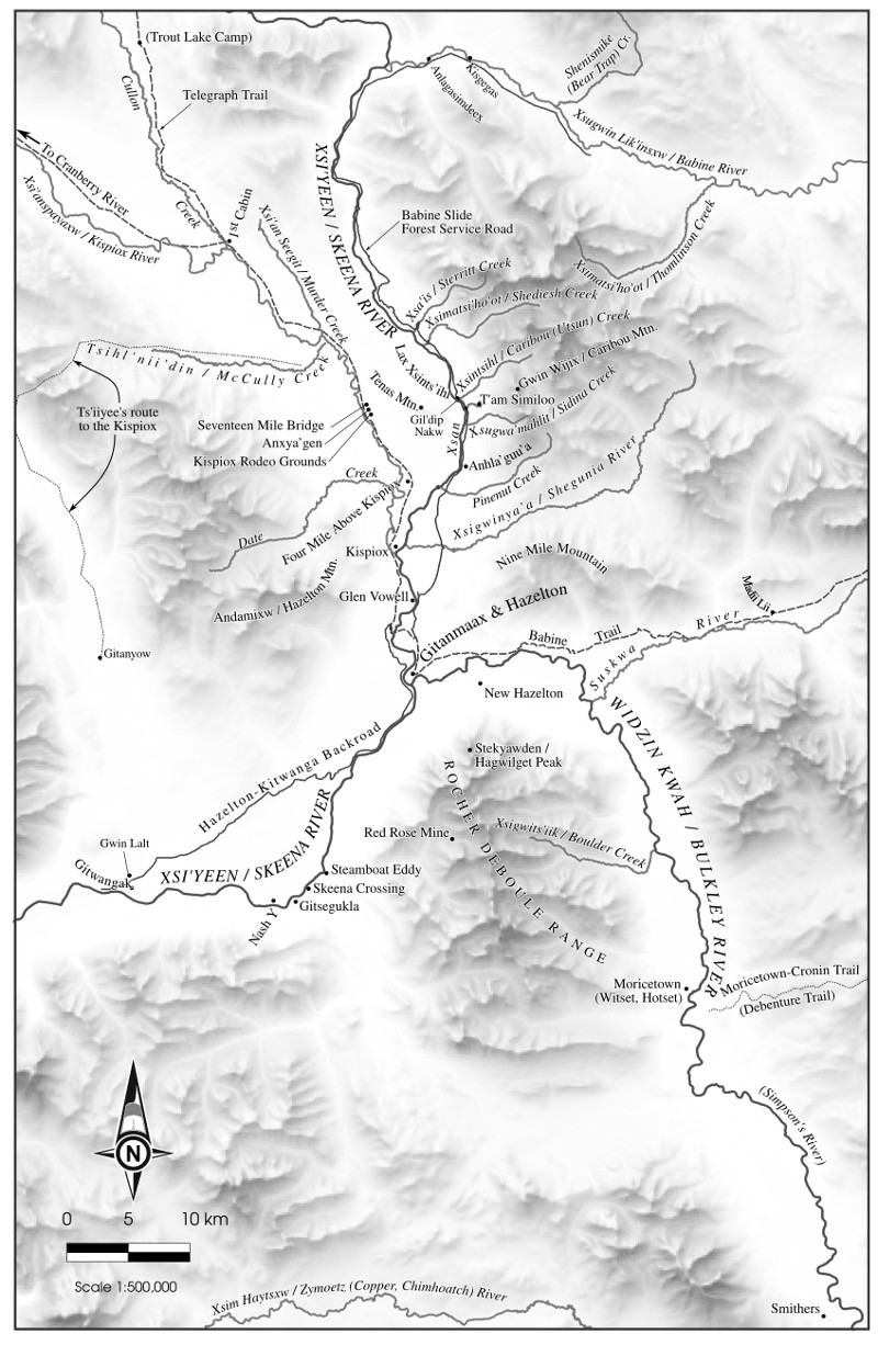 Hesperus arts mapping for neil sterritts mapping my way home creekstone press will be publishing neil sterritts history of hazelton and gitanmaax mapping my way home i was asked to do eleven maps for the book gumiabroncs Gallery